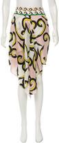 Diane von Furstenberg Silk Printed Shorts w/ Tags