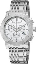 Burberry Men's Trench Chronograph Dial Watch White BU2303