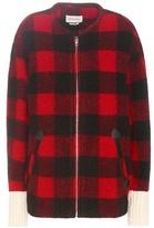 Etoile Isabel Marant Isabel Marant, Étoile Oversized Wool-blend Bomber Jacket