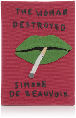 Olympia Le-Tan The Woman Destroyed Book Clutch