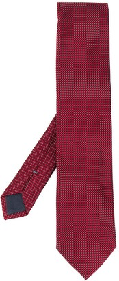 Ermenegildo Zegna Jacquard Silk Tie