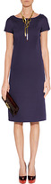 Alberta Ferretti Lilac Sheath Dress
