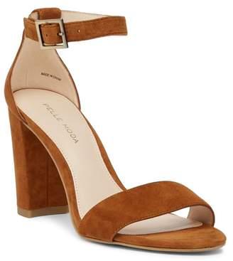 Pelle Moda Bonnie Block Heel Sandal