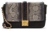 MCM Leather & Skin Shoulder Bag