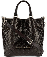 Dooney & Bourke Small Woven Embossed Leather Barlow Satchel
