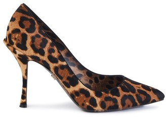 Dolce & Gabbana Fur heels
