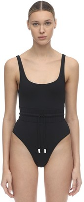 Les Girls Les Boys One Piece Swimsuit W/ Drawstring