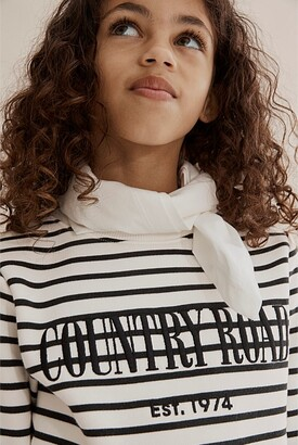 Country Road Verified Australian Cotton Heritage Stripe Sweat
