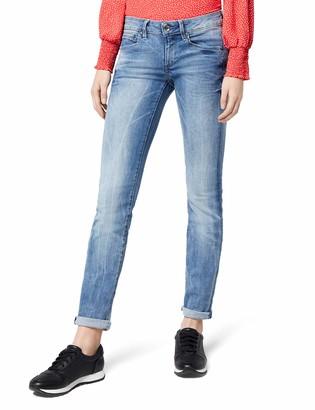 G Star Women's Midge Mid Waist Straight Jeans