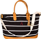 Personalized Gifts Personalized Striped Weekender Bag