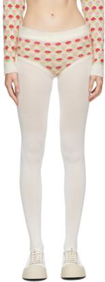 Ashley Williams Off-White Knit Hot Shorts