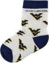 For Bare Feet Toddlers' West Virginia Mountaineers Socks