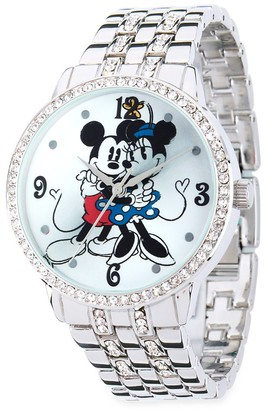 Disney Mouse Silver Alloy Watch for Women