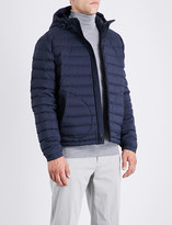 Ralph Lauren Purple Label Down-filled quilted shell coat