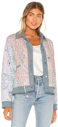 Blank NYC BLANKNYC Reversible Denim Dolman Jacket