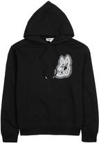 Mcq Alexander Mcqueen Black Rabbit-print Cotton Sweatshirt