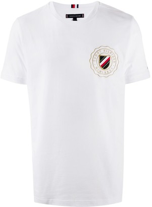 Tommy Hilfiger short-sleeved logo print T-shirt