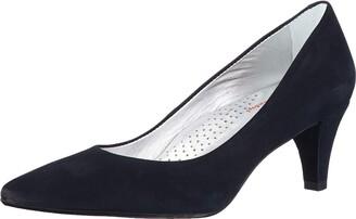 Marc Joseph New York Women's Leather Made in Brazil 2.25 Inch Heel Point Pump