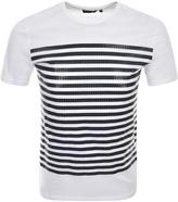 Antony Morato Stripe T Shirt White