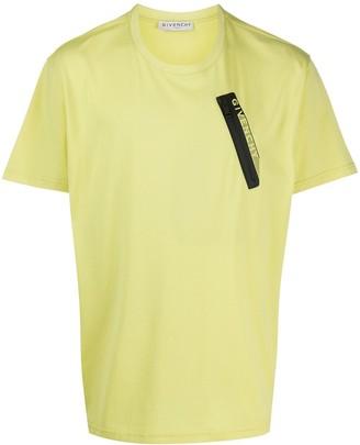 Givenchy zip-detail T-shirt