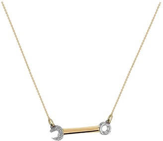 Yellow Gold Crank it Up Necklace