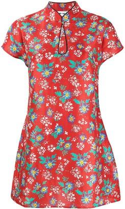 Rixo Lolita floral-print mini dress