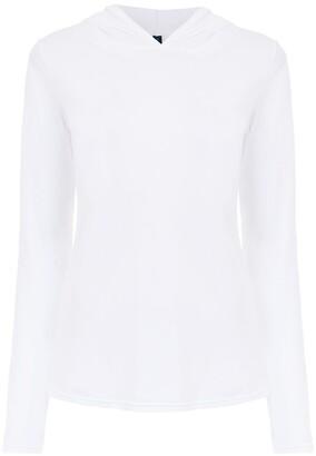 Lygia & Nanny long-sleeved hooded T-shirt