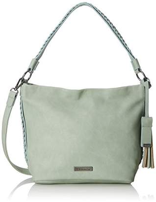 Tamaris Nadya Hobo Bag S, Women's Shoulder Bag, Grau (Light Grey), (B x H T)
