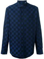 Ami Alexandre Mattiussi checked button down shirt - men - Cotton - 39