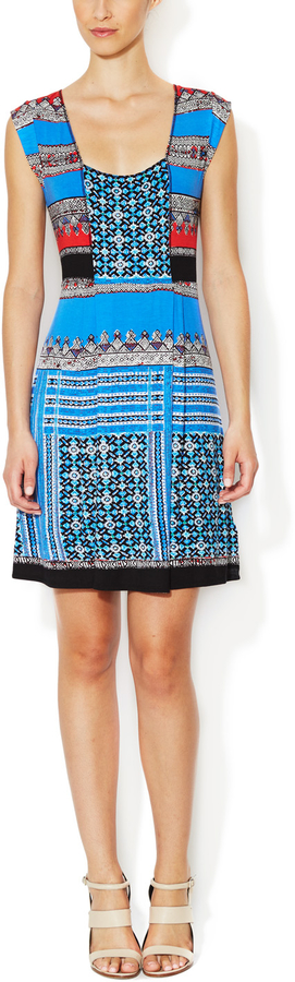 Plenty by Tracy Reese Jersey Directional Placement Dress