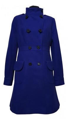 Samsoe & Samsoe Blue Wool Coats