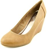 Kenneth Cole New York Unlisted Kenneth Col Bold Shoe Women US 10 Tan Wedge Heel
