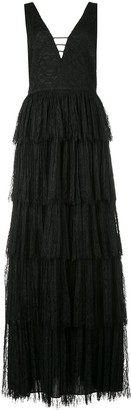 Alice + Olivia Isadora tiered gown