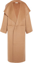Totême Annecy Oversized Wool And Cashmere-blend Coat - Camel