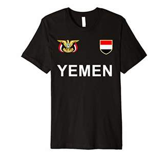 Yemen Soccer T-Shirt - Yemeni, Yemenite Football Jersey 2017