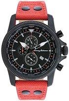 Tommy Bahama RELAX Men's 10018353 Paradise Pilot Dual Time Chronograph (Air) Analog Display Japanese Quartz Orange Watch