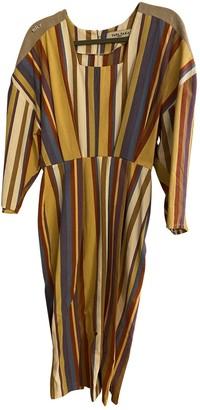 Tata-Naka Multicolour Linen Dress for Women