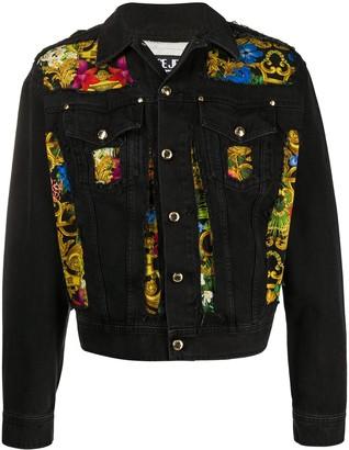 Versace Jeans Couture Tropical Baroque denim jacket