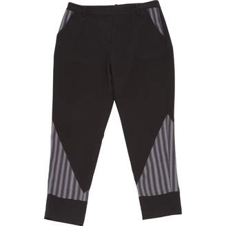 Peter Pilotto X Target Black Polyester Trousers