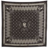 Ralph Lauren Purple Label Cotton Bandana Scarf