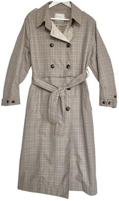 MUNTHE Grey Coat for Women