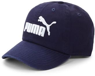 Puma Logo Cotton Baseball Cap