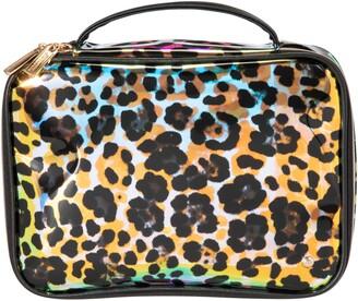 Stephanie Johnson Claire Miami Cheetah Holographic Jumbo Makeup Case