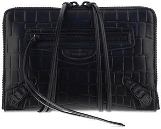 Balenciaga Neo Classic Embossed Clutch
