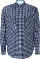 T.M.Lewin Men's Check Relaxed Fit Casual Shirt