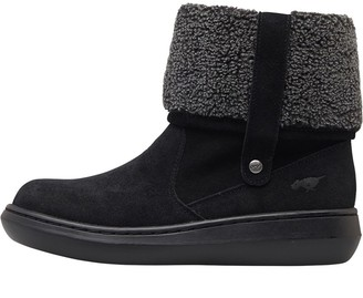 Rocket Dog Womens Sugar Mint Suede Boots Black
