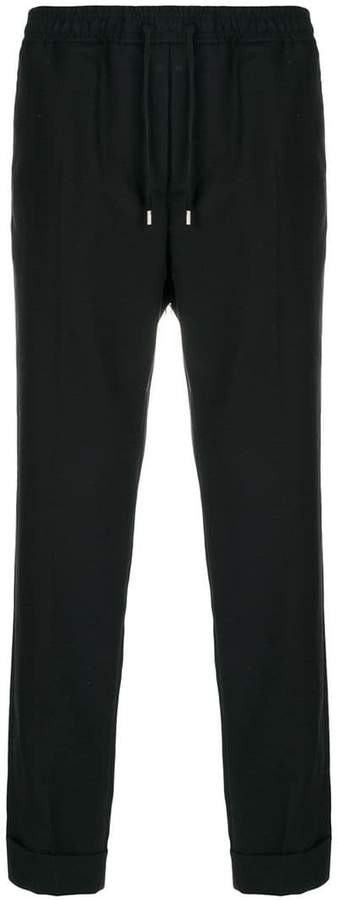 Gucci drawstring cropped trousers
