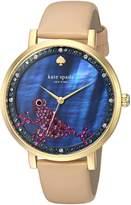 Kate Spade KSW1308 Women's Monterey Vachetta Leather Strap Watch
