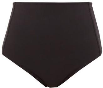 Araks Yumi High-rise Bikini Briefs - Womens - Black