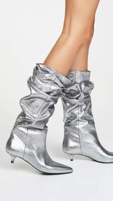 Zimmermann Metallic Kitten Heel Boots